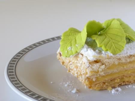 cream puff: cake Stock Photo