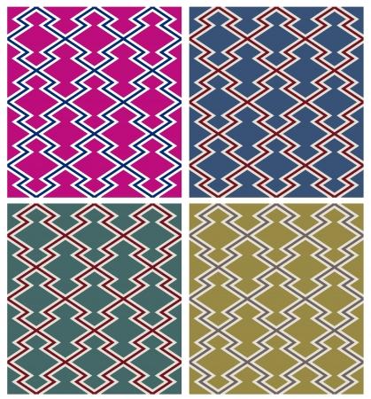 zag: seamless design geometric shapes Illustration