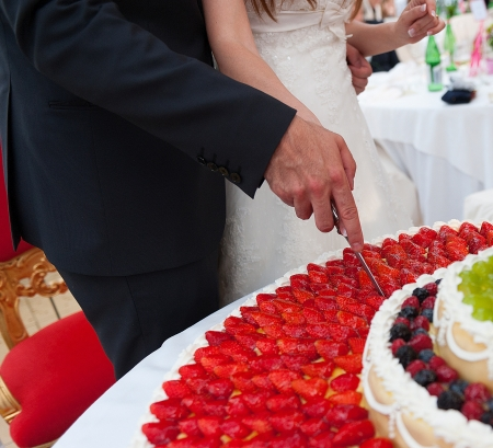 wedding sweets and fine little pastry photo