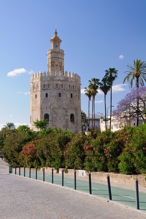 Torre de Oro  Tower of Gold  - Sevilla, Spain  photo