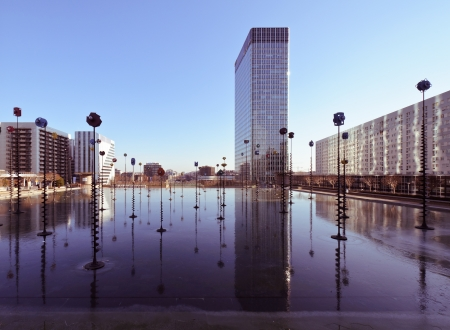 Esplanade de la Defense, Paris, France