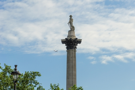 The column was built between 1840 and 1843 to commemorate Admiral Horatio Nelson photo