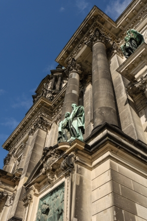Berlin Cathedral detail, Germany