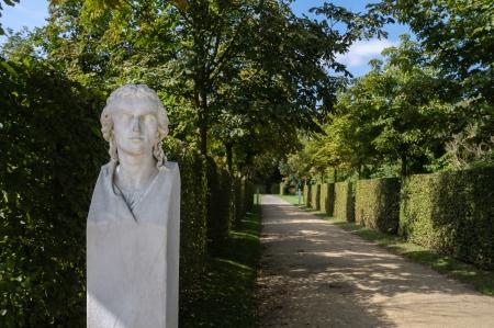 Sanssouci Park sculpture  Potsdam, Germany  Standard-Bild
