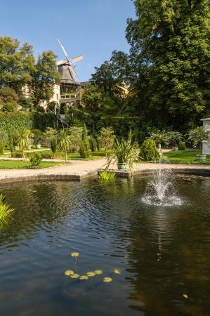 Sanssouci Park mill  Potsdam, Germany