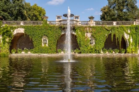 Sanssouci Park spring  Potsdam, Germany