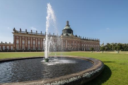 Sanssouci Park palace  Potsdam, Germany  Editorial
