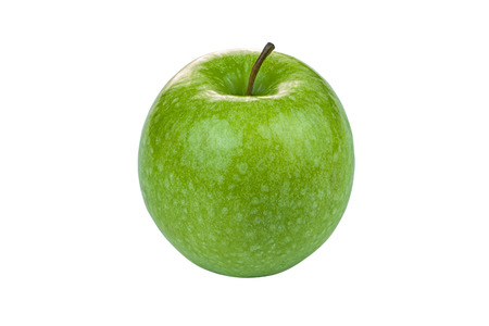 granny smith: Green Granny Smith Apple isolated on white background Stock Photo