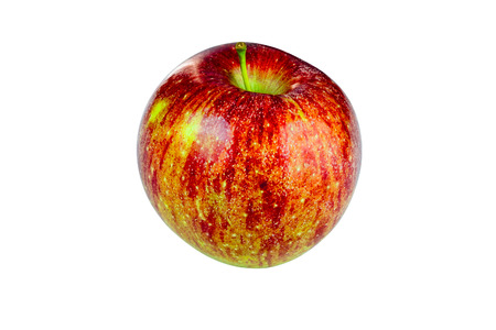 Red Fuji Apple cutout on white background