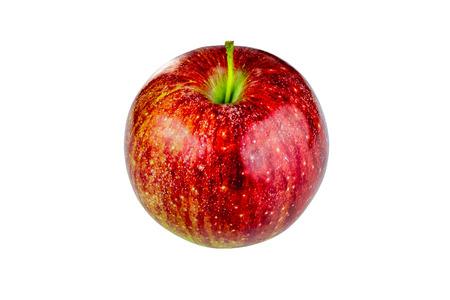 limbo: Red Fuji Apple cutout on white background
