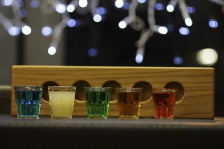 rainbow cocktail: drink