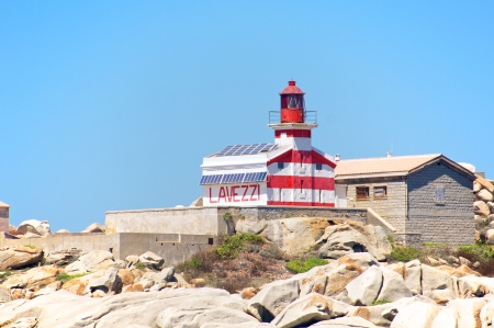Lavezzi Lighthouse, Corsica, France