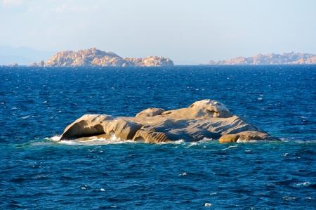 Scoglio Cavalli, Sardinia, Itlay Standard-Bild