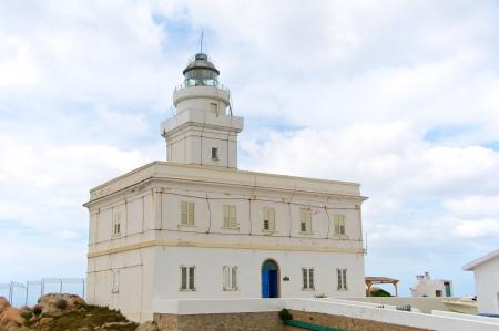 capo: Capo Testa Lighthouse, Sardinia, Italy