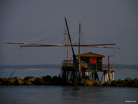old pier: The old pier