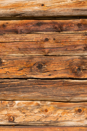 Aged planks of larch wood Stok Fotoğraf