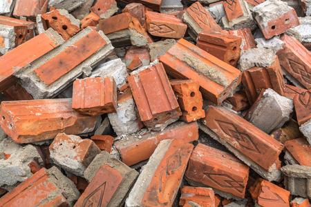 demolishing: ruin after demolishing