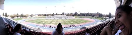 high school football: Buchanan High School football stadium