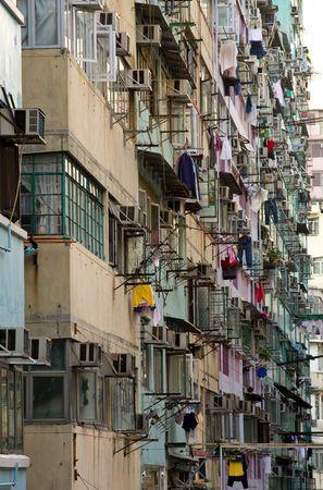 Apartment blocks in Hong Kong China