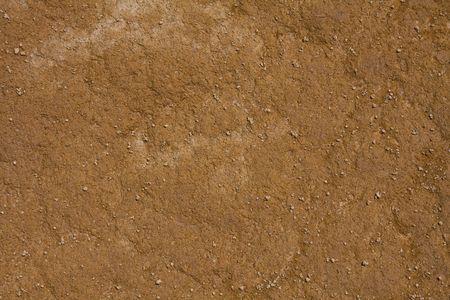 Orange soil texture background