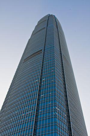 Large Skyscraper in Hong Kong