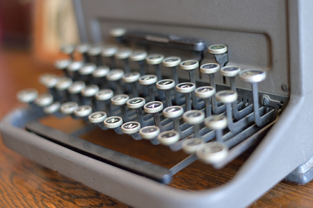 old typewriter: old typewriter