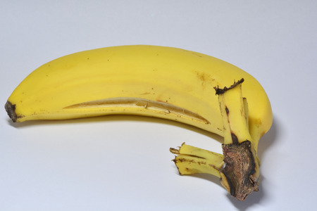 ripped: over ripped banana Stock Photo
