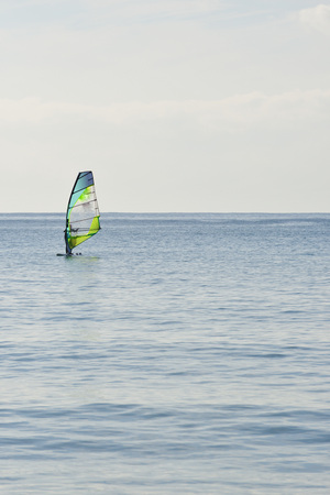 wind surfing: wind surfing