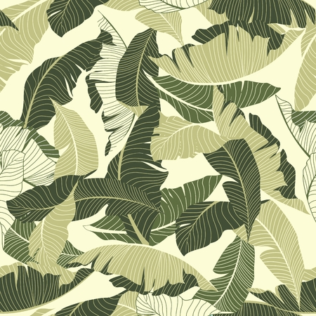 banana leaf: palm pattern