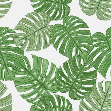 exotic fruit: palm pattern