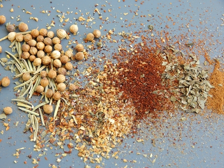 Various spices Stock fotó