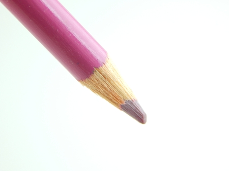 color pencil: This is a picture of a color pencil isolated on a white background.
