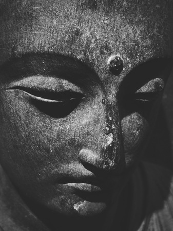 third eye: Buddha Monochrome