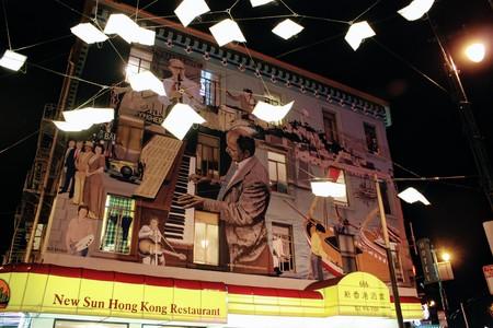Flying book art installation in San Francisco Imagens