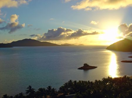 whitsundays: Sunrise at Hamilton Island, Whitsundays, Queensland, Australia