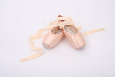 ballet shoes: Ballet Point Shoes