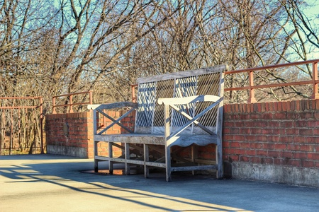 Random Bench Stok Fotoğraf