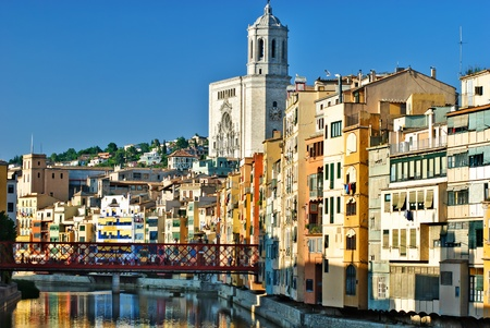 Girona - river view, Spain