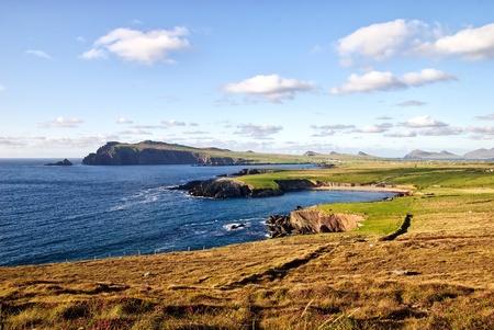 beautiful coast landscape on Dingle peninsula, Ireland