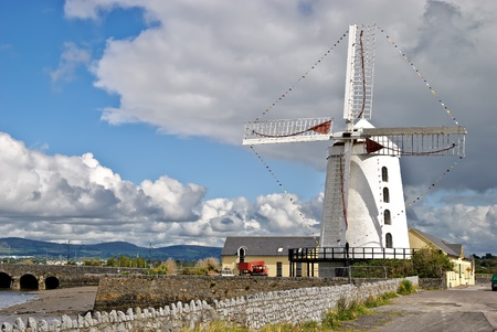 Blennerville Windmill, Blennerville (Tralee), Ireland - historic tower mill from 1800, now a tourist attraction Stock Photo - 10819071