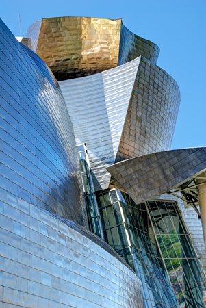 BILBAO, SPAIN - JUNE 03: Guggenheim Museum Bilbao, designed by Canadian-American architect Frank Gehry, one of the most admired works of contemporary architecture,  on June 03, 2010 in Bilbao, Spain.