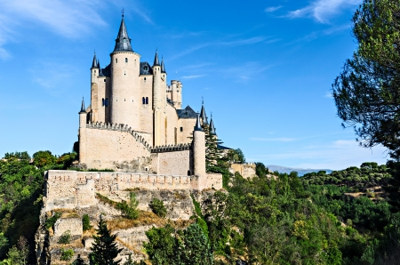 segovia: Alcazar of Segovia, Spain - The Alc�zar of Segovia is a stone fortification, located in the old city of Segovia, Spain