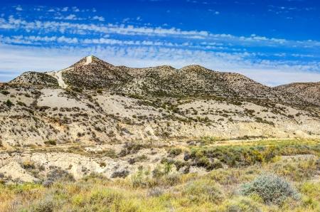 aragon: desert landscape - Mongeros, Aragon, Spain