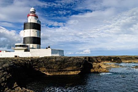 Hook Lighthouse at Hook Head, County Wexford, Ireland photo