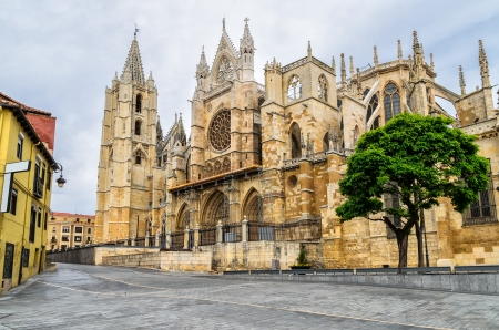 leon: Cathedral of Leon, Spain