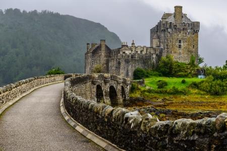 loch: Eilean Donan Castle, western Highlands of Scotland, UK Editorial