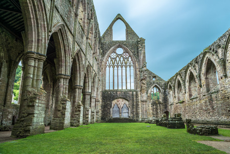 gothic church: The Tintern Abbey church, first Cistercian foundation in Wales, dating back to a.d. 1131