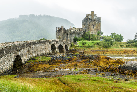 loch: Eilean Donan Castle in the western Highlands is one of the most iconic images of Scotland, UK Editorial