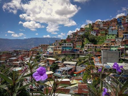 Comuna 13 in Medellin, Colombia