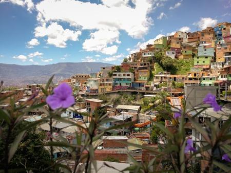edfComuna 13 in Medellin, Colombia